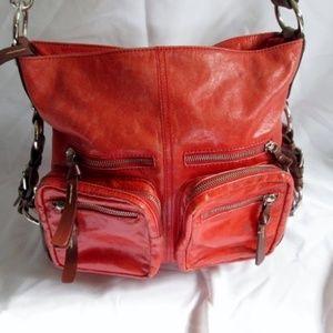 TANO Leather Shoulder Saddle Bag Satchel Purse